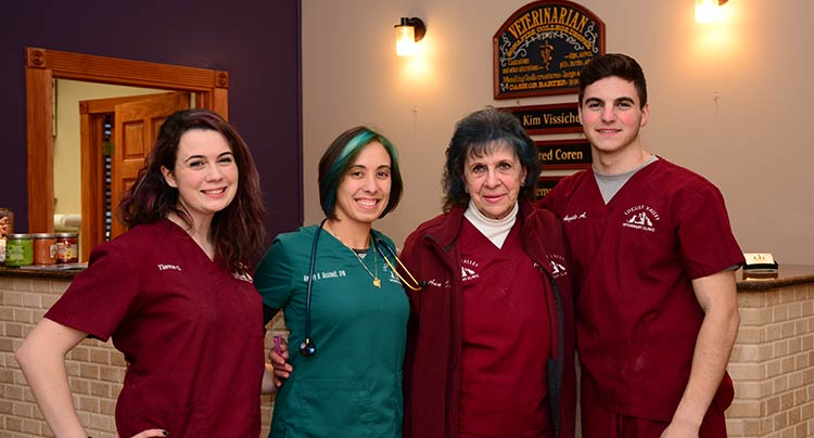 Veterinary Staff at Locust Valley Animal Hospital